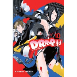 DURARARA!! LIGHT NOVEL tom 10