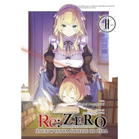 RE ZERO Życie w innym świecie od zera Light novel tom 11