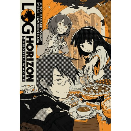 LOG HORIZON Light novel tom 5