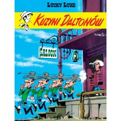 LUCKY LUKE tom 12 Kuzyni...