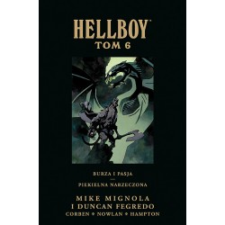 HELLBOY tom 6 Burza i pasja...