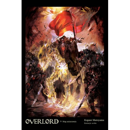 OVERLORD Light novel tom 9
