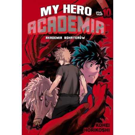 MY HERO ACADEMIA (AKADEMIA BOHATERÓW) tom 10