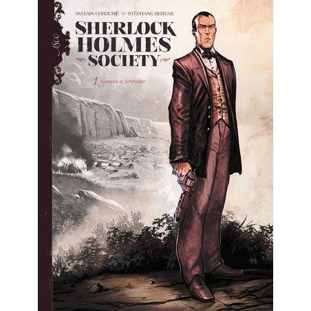 SHERLOCK HOLMES SOCIETY tom 1 Przygoda w Keelodge